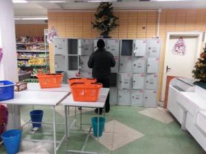 Камеры хранения в сети магазинов Азарэнне